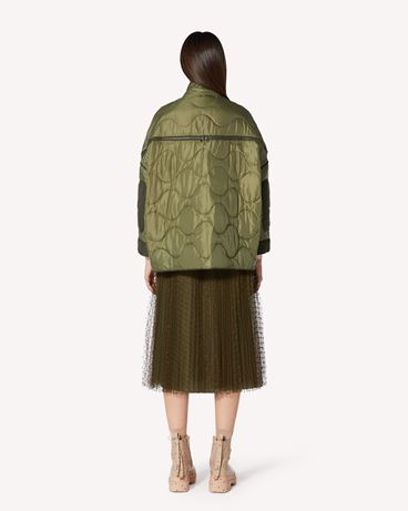 REDValentino 绗缝加衬夹克