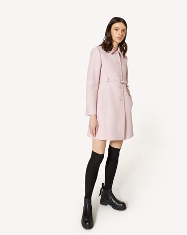 REDValentino 羊绒羊毛厚呢大衣
