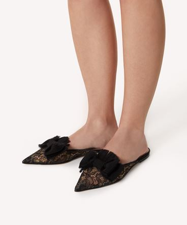 REDValentino WINTER BOW 穆勒鞋