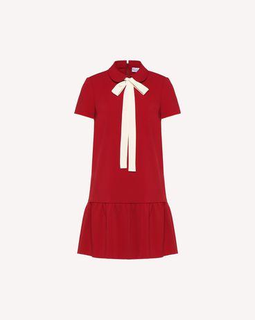 REDValentino QR3VA7F83TG CHA 短款连衣裙 女士 a