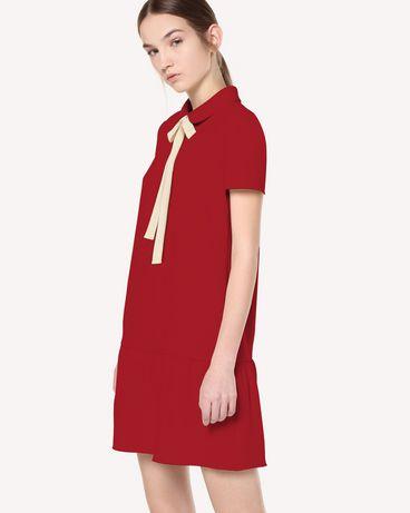 REDValentino QR3VA7F83TG CHA 短款连衣裙 女士 d