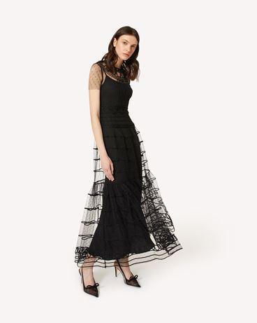 REDValentino PR3VAR9A3QD 0NO 长款与中长款连衣裙 女士 d