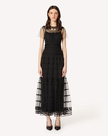 REDValentino PR3VAR9A3QD 0NO 长款与中长款连衣裙 女士 f