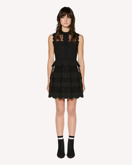 REDValentino 短款连衣裙 女士 SR3VA3E52MG 0NO f