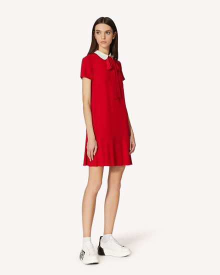 REDValentino 短款连衣裙 女士 SR3VAF054AY FW4 d