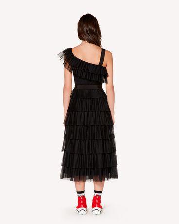 REDValentino SR3VA03C4C5 0NO 长款与中长款连衣裙 女士 r