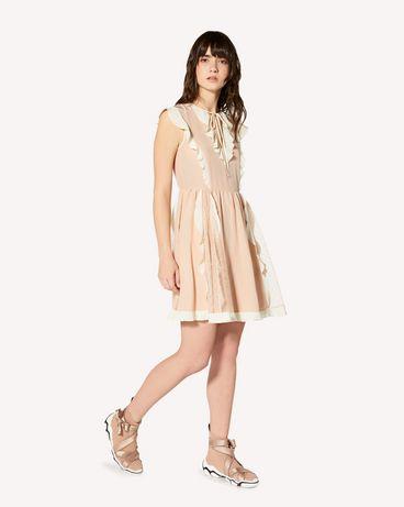 REDValentino SR3VAJ754PW 377 短款连衣裙 女士 d