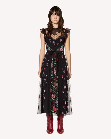 REDValentino 长款与中长款连衣裙 女士 SR3VAG454AQ 0NO f