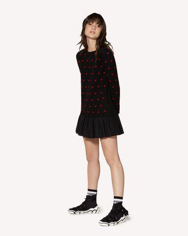 REDValentino SR3KDA574F5 0NO 短款连衣裙 女士 d