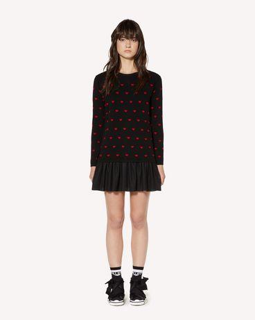 REDValentino SR3KDA574F5 0NO 短款连衣裙 女士 f