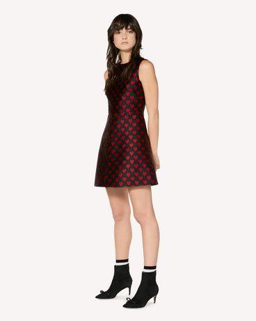 REDValentino SR3VA2U649Q 0NO 短款连衣裙 女士 d