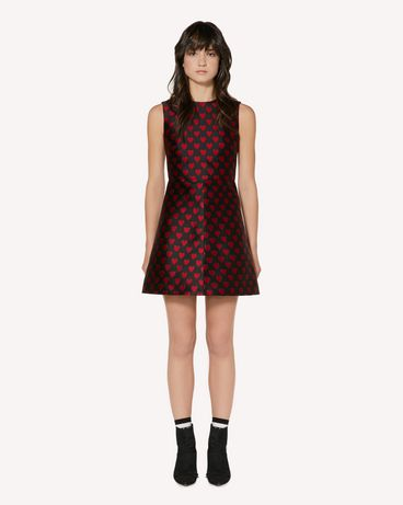 REDValentino SR3VA2U649Q 0NO 短款连衣裙 女士 f