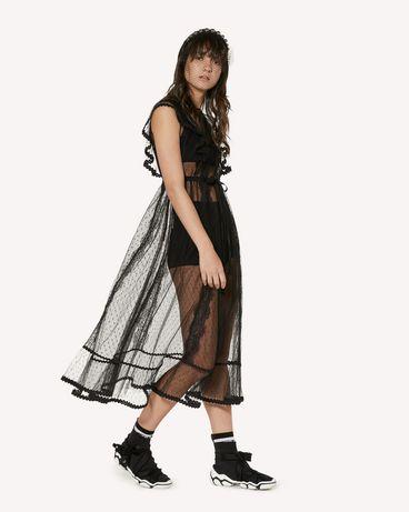 REDValentino SR3VAF551GK 0NO 长款与中长款连衣裙 女士 d