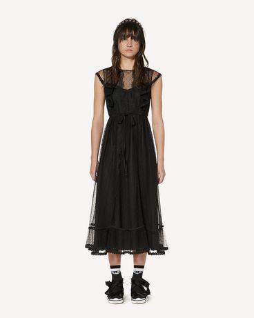 REDValentino SR3VAF551GK 0NO 长款与中长款连衣裙 女士 f
