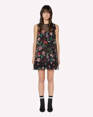 REDValentino SR3VAG054AN 0NO 短款连衣裙 女士 f