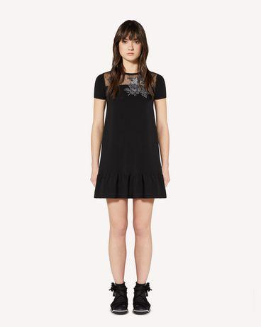 REDValentino SR0KDB004MH 0NO 短款连衣裙 女士 f