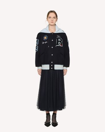 REDValentino RR3RA3801GK B01 长款与中长款半裙 女士 f