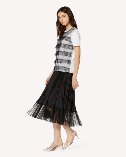 REDValentino 长款与中长款半裙 女士 TR3RAD304S9 0NO d
