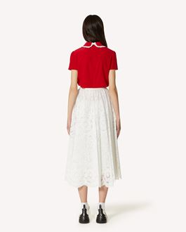 REDValentino 蕾丝伞裙