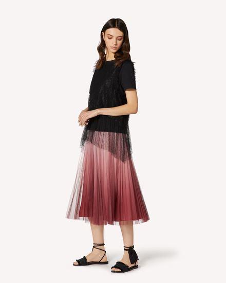 REDValentino 长款与中长款半裙 女士 TR0RA00W52P R13 d