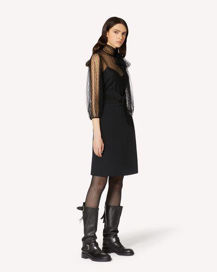 REDValentino 长款与中长款半裙 女士 UR3RAE802EU 0NO d