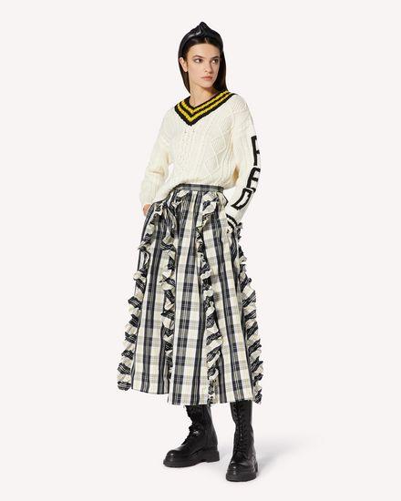 REDValentino 长款与中长款半裙 女士 UR0RAF105DH A03 d