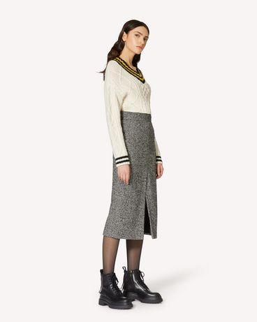 REDValentino UR0RAF055CR 0NO 长款与中长款半裙 女士 d