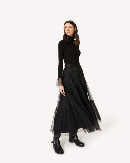 REDValentino 长款与中长款半裙 女士 UR0RAF251GK 0NO d
