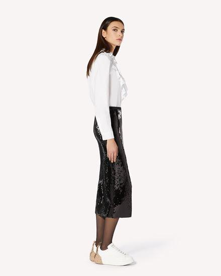 REDValentino 长款与中长款半裙 女士 UR0MD01F5HW 0NO  d