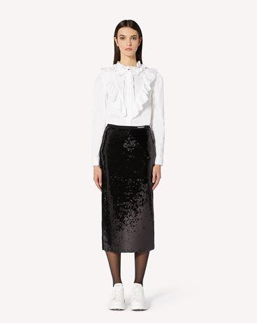 REDValentino UR0MD01F5HW 0NO  长款与中长款半裙 女士 f
