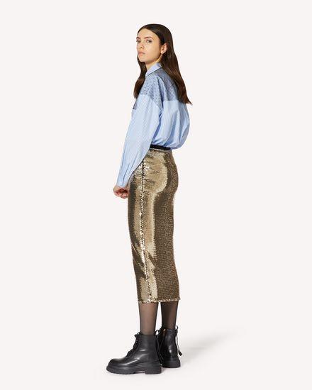REDValentino 长款与中长款半裙 女士 UR0MD01F5HW O95 d