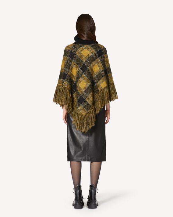 REDValentino 搭扣细节皮革铅笔半裙