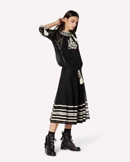 REDValentino 长款与中长款半裙 女士 VR3RA01G5QJ 0NA d