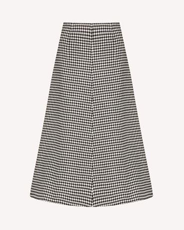 REDValentino Vichy 图案 A 字半裙
