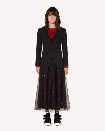 REDValentino 羊毛粘胶混纺西装外套