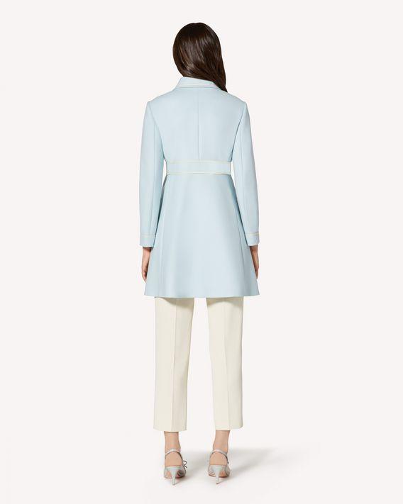 REDValentino 对比细节羊毛厚呢大衣