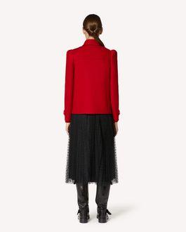 REDValentino 羊毛羊绒混纺卡班大衣
