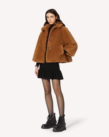 REDValentino 羊羔毛夹克