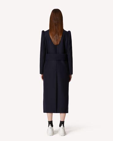 REDValentino 羊毛羊绒混纺大衣