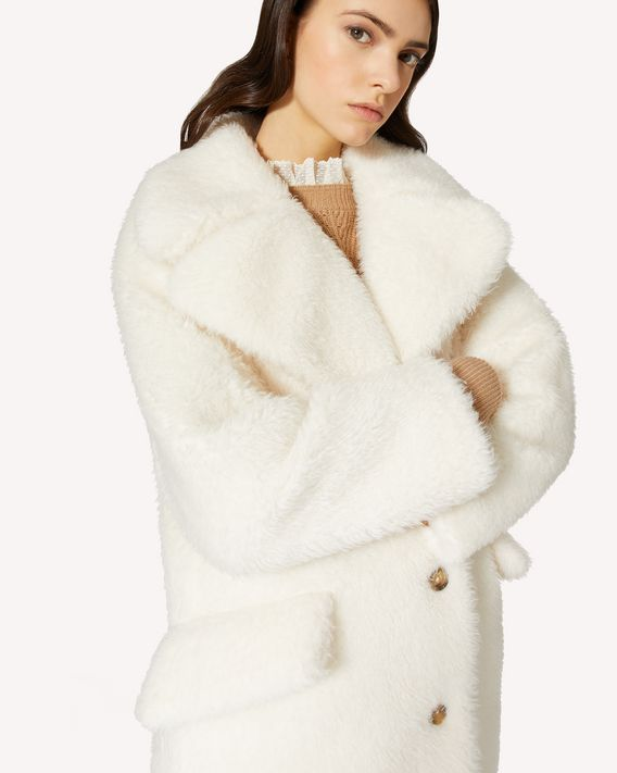 REDValentino 羊羔毛大衣