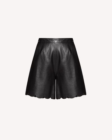 REDValentino SR3NH00F4BL 0NO 短裤 女士 a
