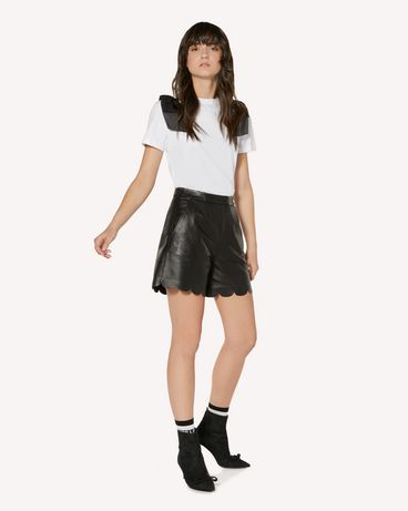 REDValentino SR3NH00F4BL 0NO 短裤 女士 d
