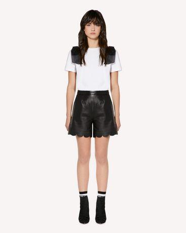 REDValentino SR3NH00F4BL 0NO 短裤 女士 f