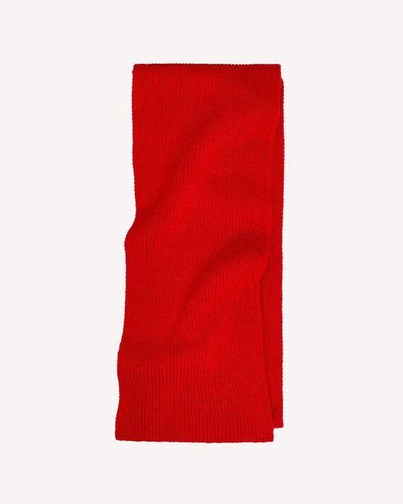 REDValentino 罗纹羊毛超长款围巾