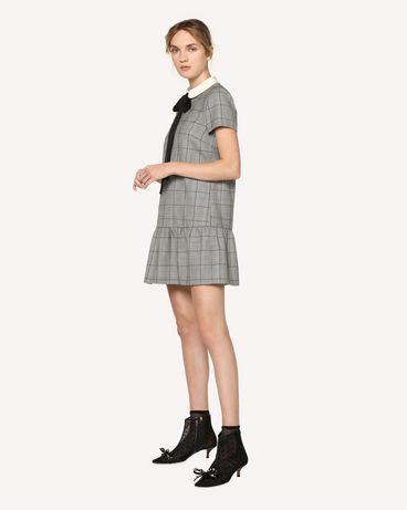 REDValentino RR3VA7F84AK 0NO 短款连衣裙 女士 d